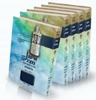 Chumash Ish Matzliach with Sephardic Shabbos Davening 5 Volume Set Large Size Green Edut Mizrach