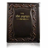Hafrashas Challah Brown Leather BiFold Small