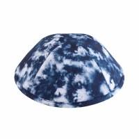 iKippah Tie Dye Blue Size 4