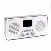 NakiRadio Duo WiFi Kosher Internet Radio Gray
