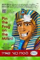 Pin the Frog on the Mitzri Passover Game