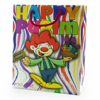 Purim Gift Bag Clown Character Design
