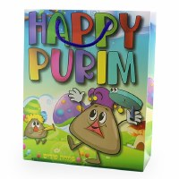 Purim Gift Bag Hamentash Character Design