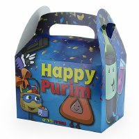 Purim Gift Box Masked Mishloach Manos Design