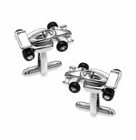 Racing Car Cufflinks with Cuff Link Display Gift Box