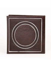Birchas Hamazon Square Circle Design Brown Ashkenaz [Hardcover]