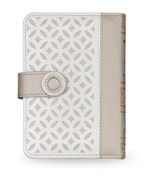 Siddur Eis Ratzon with Tehillim Faux Leather Lacey Beige and White Design Ashkenaz