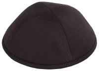 Yarmulka Cotton Black Size 8