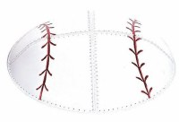 Kippah Suede Baseball Design Size Medium