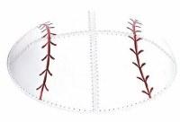 Kippah Suede Baseball Design Size Medium