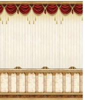 """Tapestry Curtain Design Mural Wall Hanging Sukkah Decoration 90"""" x 96"""""""