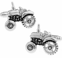 Tractor Cufflinks with Cuff Link Display Gift Box