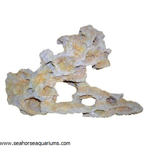 White Resin Rock Large