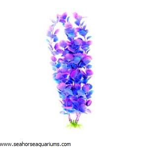 "Boyu  16"" Purple Plastic Plant"