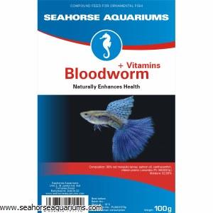 SA Bloodworms +Vitamins 100g