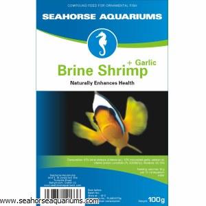SA Brine Shrimp +Garlic 100g