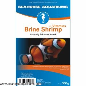 SA Brine Shrimp +Vitamins 100g
