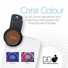 D-D Coral Colour Clip