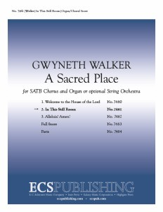 A Sacred Place: 2. - SATB