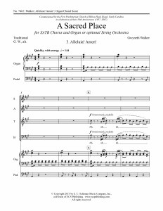 A Sacred Place: 3. - SATB