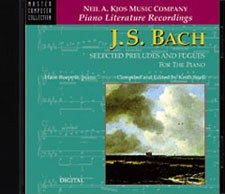 Bach - Selected Preludes CD