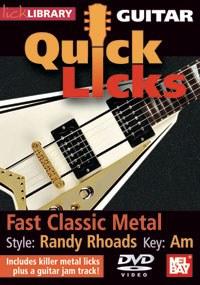 Gtr Quick Licks - Randy Rhoads