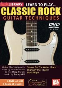Classic Rock Guitar Techniques