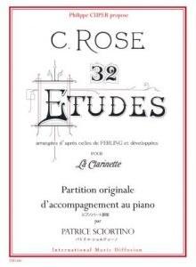 32 Etudes de C Rose - Pno Acc
