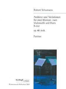 Andante & variations Op. 46 Sc
