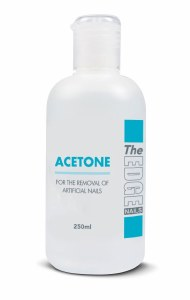 The Edge Acetone High Grade Tip Remover 250ml
