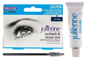 Picture of Julienne Eyelash and Eyebrow Tint Blue Black 15ml