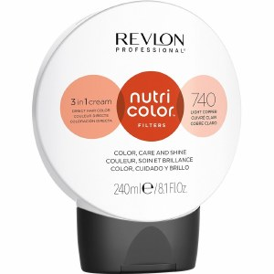 Revlon Nutri Colour Creme 740 Light Copper 240ml