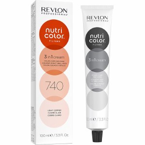 Revlon Nutri Colour Creme 740 Light Copper 100ml