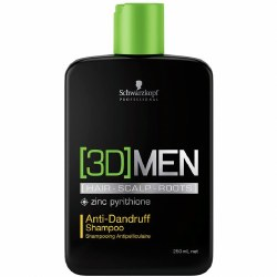 Schwarzkopf [3D] Men Anti Dandruff Shampoo 250ml