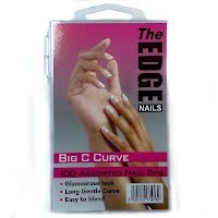 The Edge Big C Curve 100 Assorted Nail Tips