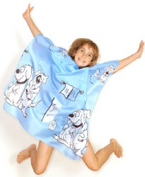 Hair Tools Children's Doggy Gown Blue