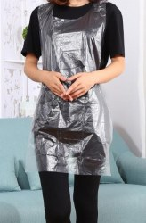 DEO Disposable Polythene Aprons (Clear)