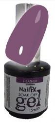 The Edge NailFX Soak Off Gel Heather 15ml