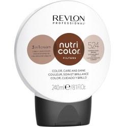 Revlon Nutri Colour Creme 524 Coppery Pearl Brown 240ml