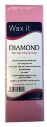 Wax It Diamond Pink Paper Waxing strips