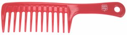 Pro Tip 07 Large Detangle Comb Red