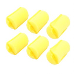 Sibel Sponge Rollers Yellow Extra Large