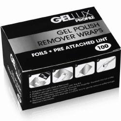 Salon System Gellux Remover Wraps (100)