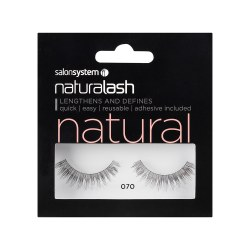 Salon System Naturalash 070 Black Natural Strip Lash