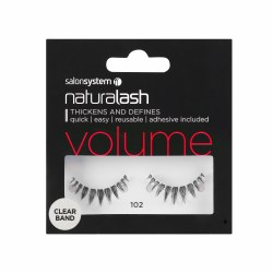 Salon System Naturalash 102 Black Strip