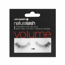Salon Systems Naturalash 149 Black Volume Strip