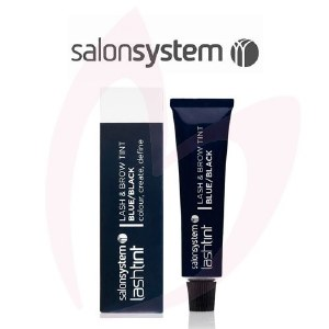 Salon System Eyelash Dye Blue/Black 15ml