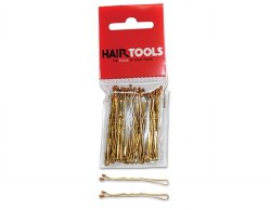 "Hair Tools 2"" Waved Grips Blonde 50pk"