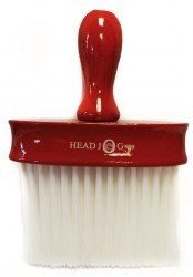 Head Jog 199 Red Laquer Wood Neck Brush