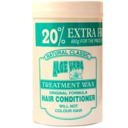 Natural Classic Henna Treatment Wax With Aloe Vera 480g